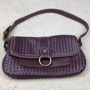 LOFT Small Purse / Hand Bag Brown
